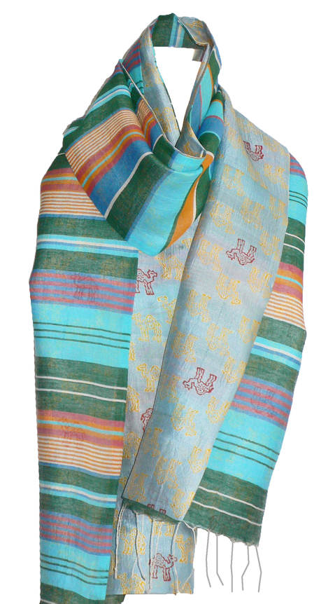 past collections-scarves  sahara