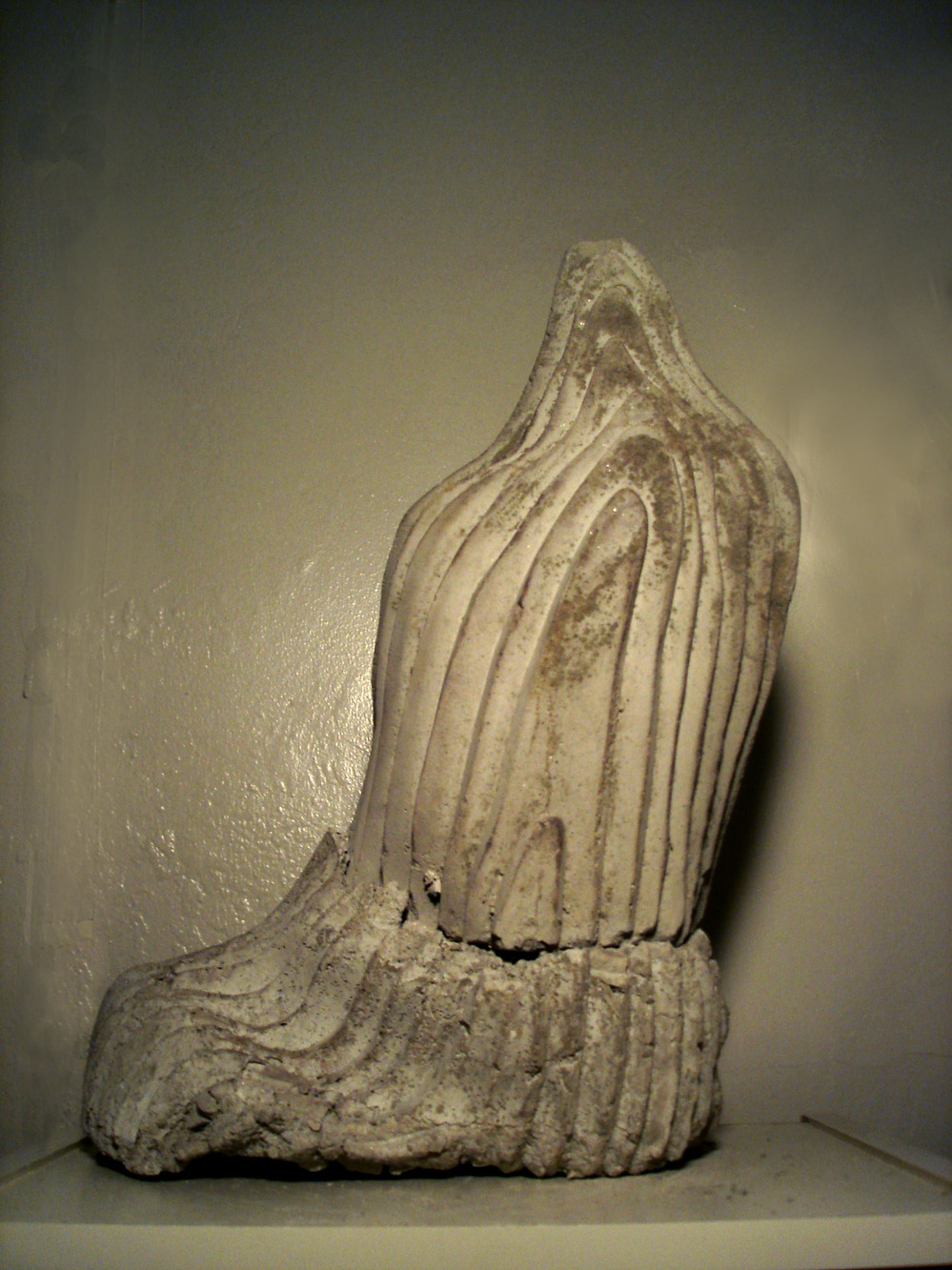 STUDIO Mortar Cast Stalactite, 2008