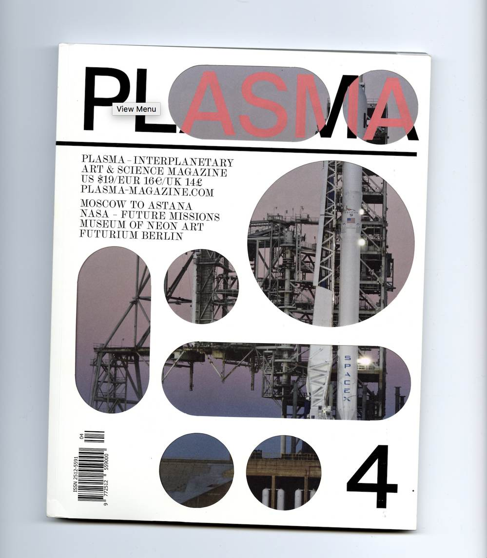 STUDIO Plasma 4: Interplanetary Art & Science Magazine, 2018