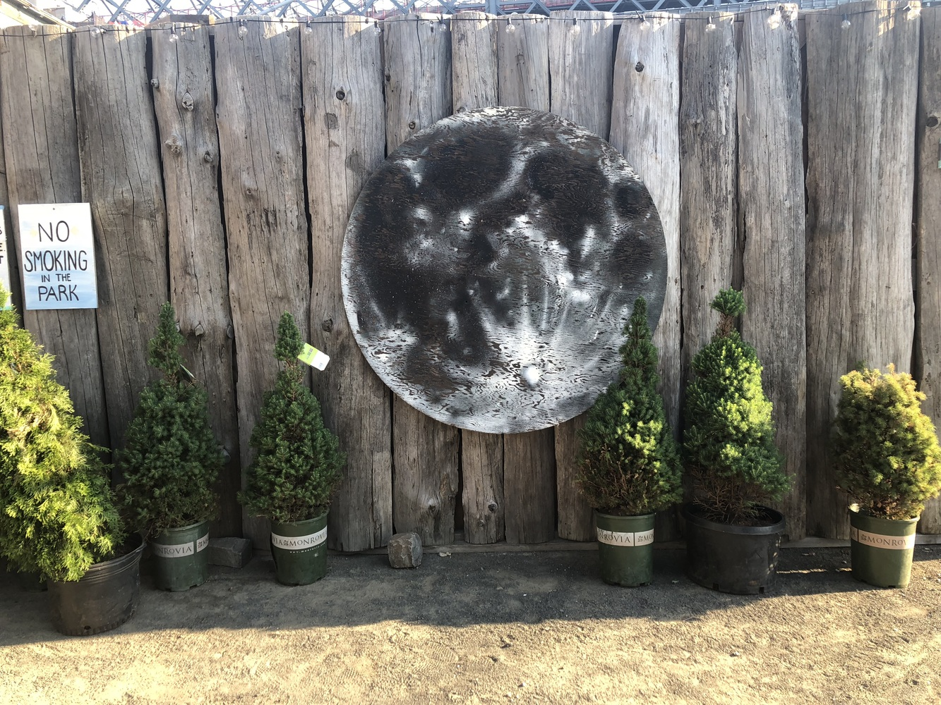 Moon: Quilt, Bleach Lifts, Polaroids Farm Moon at North Brooklyn Farms