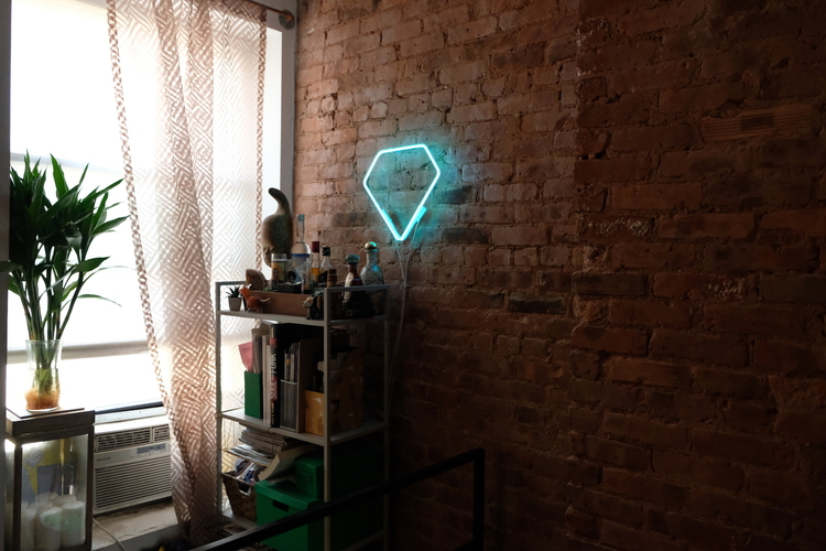 KACIE LEES NEON IN NY APARTMENTS  Neon, Cable & Transformer