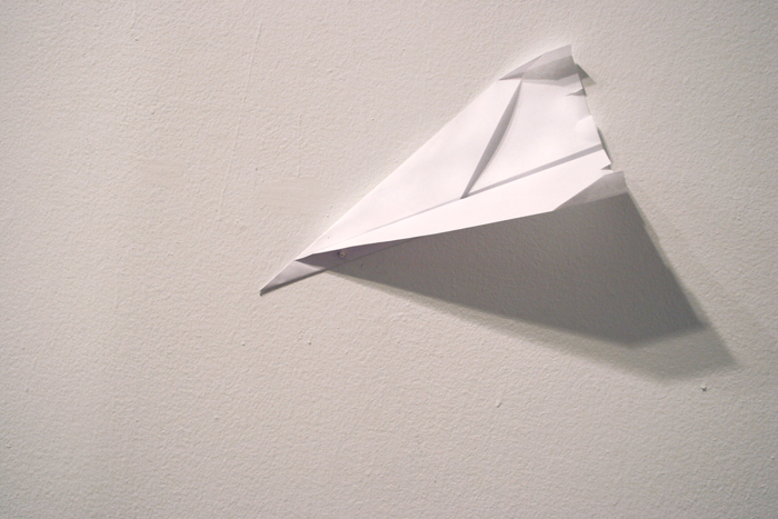 Installation Views Paper Airplane