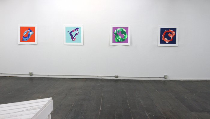 WHAT'S LEFT TO BURN? Endurance Diagrams, installation view [print room]