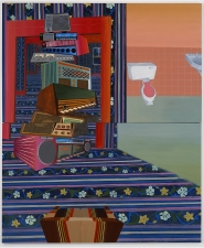 KANISHKA RAJA I.M.Pure 2005 oil on canvas over 2 panels