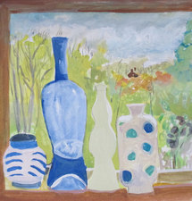 Karen A. Deutsch Paintings Gouache on Paper