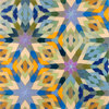 Kaleidoscoptical - Ruche Off encaustic on board