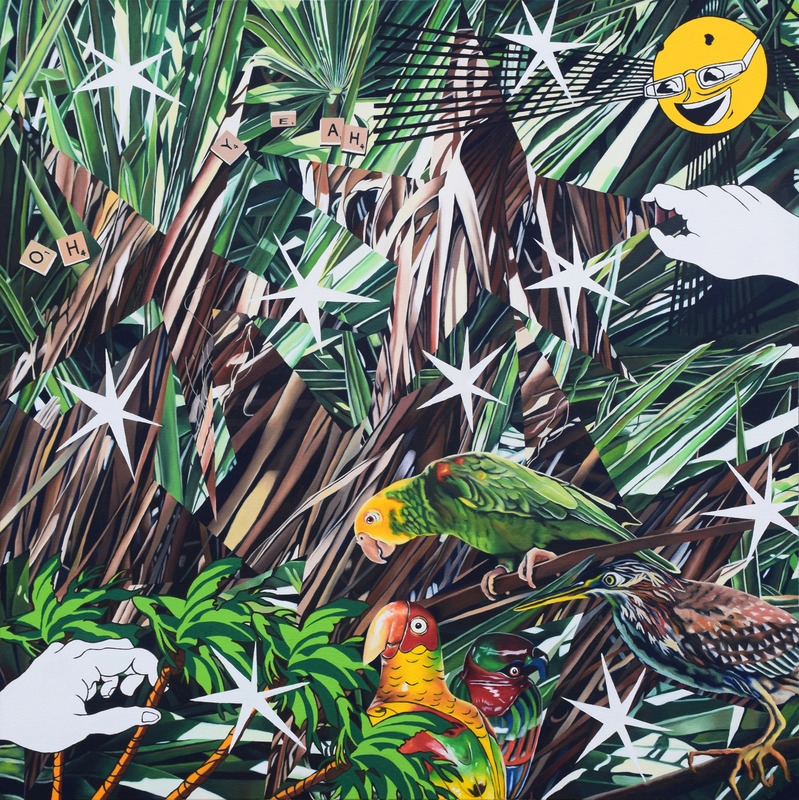 Paintings 2017-Present Tropical Bird Show