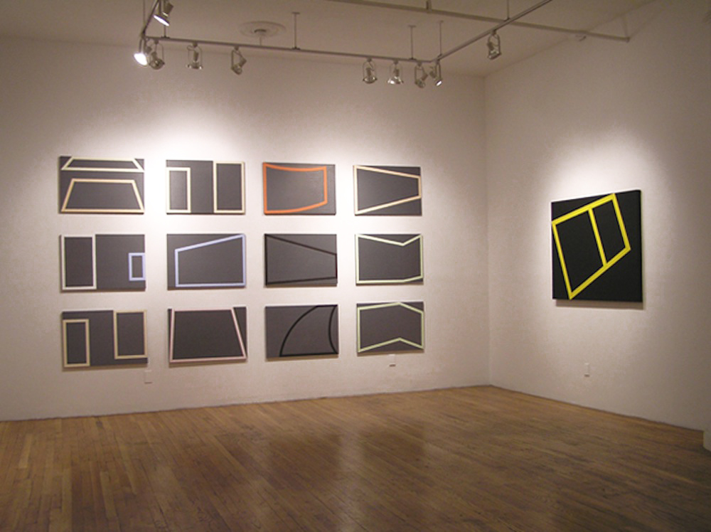 "Windows Installation view, ""Karen Schifano:Out of Bounds"""