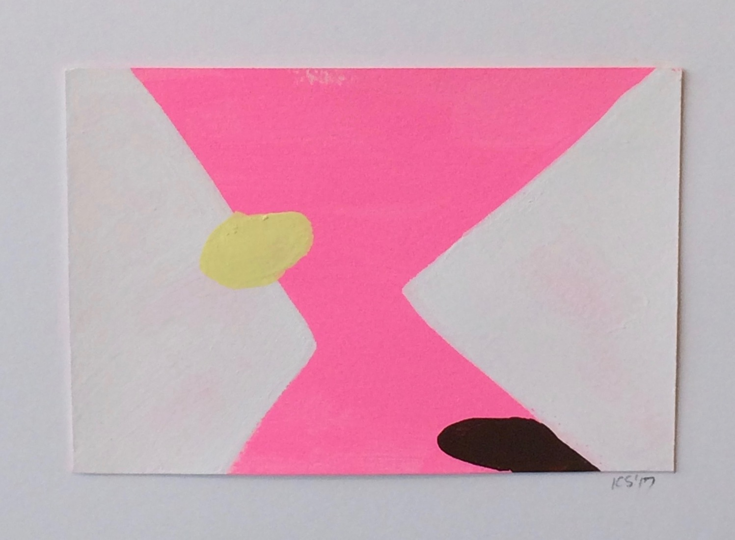 New Gouaches on Paper #7