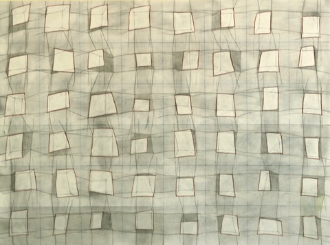 Spatial Fields (hashtag drawings) graphite, charcoal, and colored pencil on paper