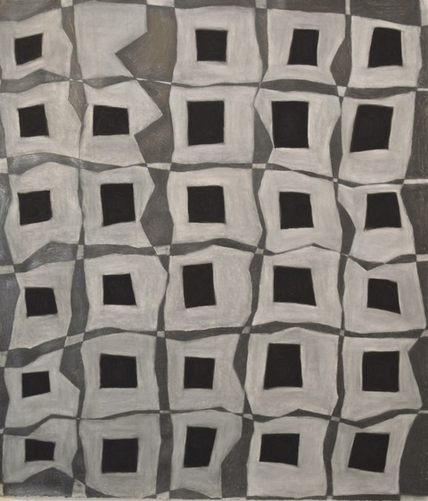 Spatial Fields (hashtag drawings) charcoal and graphite on paper