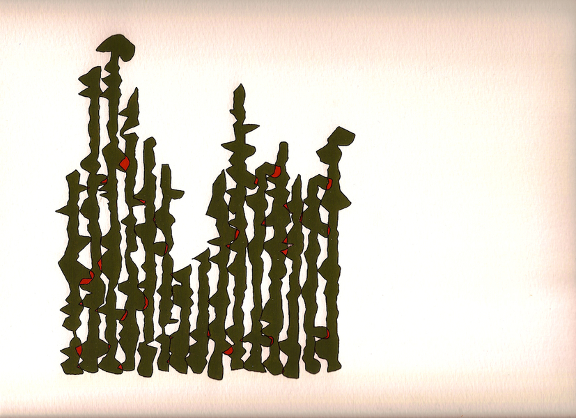 Manuscripts (2012-) Untitled (Stalagmites)