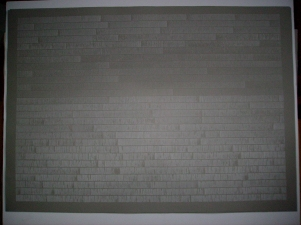 Laid Line Drawings, large (2007-08)