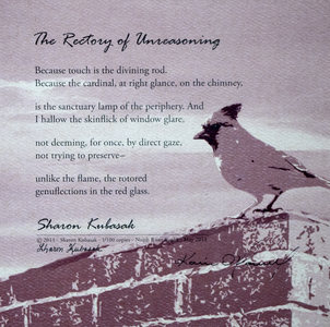 KARIE O'DONNELL Poetry Broadsides Sharon Kubasak