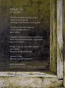 Karie O'Donnell Poetry Broadsides Ray Amorosi