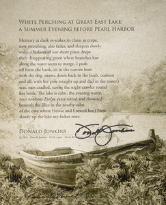 Karie O'Donnell Poetry Broadsides Donald Junkins
