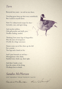Karie O'Donnell Poetry Broadsides Sandra McPherson