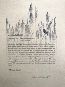 Karie O'Donnell Poetry Broadsides Melissa Kwansy