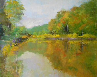 Kari Feuer Landscapes in oils Oil/Linen