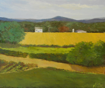 Kari Feuer Landscapes in oils Oil on Linen