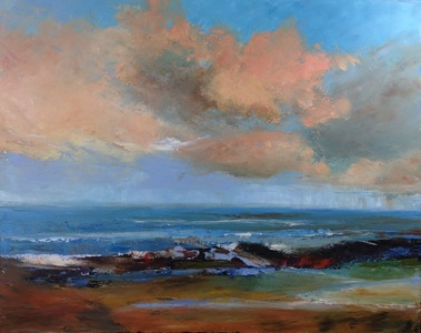 Kari Feuer Coastal Scenes Oil on canvas