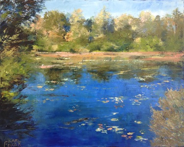 Kari Feuer Landscapes in oils Oil on canvas