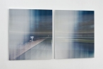 KATARINA MATIASEK SPLIT HORIZON two part lenticular print