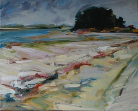 Kate Emlen Painting: 2007 and earlier Oil on canvas