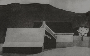 Kate Emlen Drawings and Monotypes Aquatint