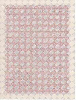 The Studio Sale colored pencil on graph paper