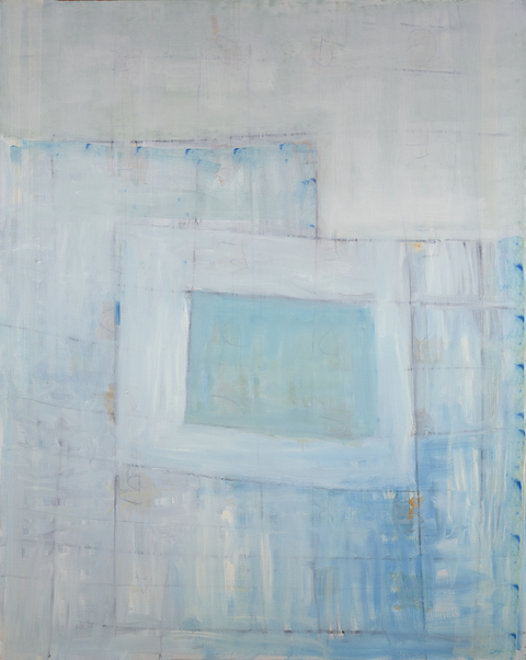 Katherine Parker Large Paintings oil and charcoal on canvas