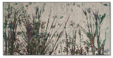 Katherine Kerr Allen Plantscapes Gallery Acrylic on Silk