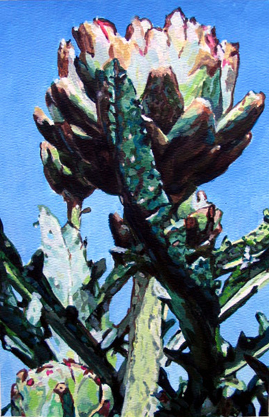 Paintings on Paper Artichoke