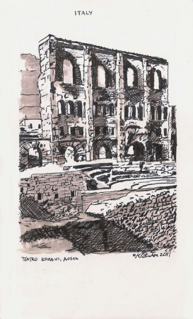 Kathleen Benton Lights in the Distance:  Italy & France *Giclée Print on Hahnemühle German Etching paper