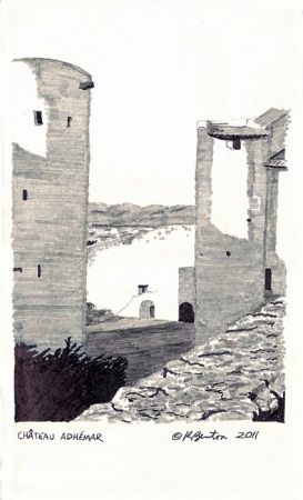 Kathleen Benton Lights in the Distance:  Italy & France 8.25x5 inches