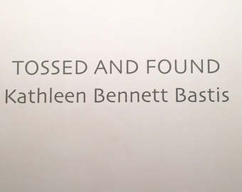Kathleen Bennett Bastis Tossed and Found 4/25/17 - 5/20/17
