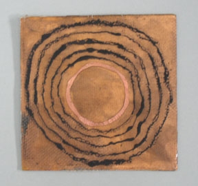 Etheric Substance Copper, fiberglass, charcoal power