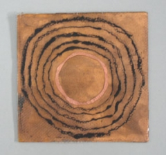KATHLEEN ANDERSON Etheric Substance Copper, fiberglass, charcoal power