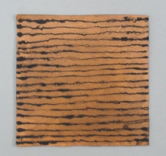 KATHLEEN ANDERSON Etheric Substance Copper, fiberglass, charcoal powder