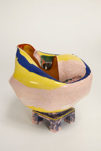 "KATHY BUTTERLY ""Enter,"" Tibor de Nagy Gallery (2014) clay, glaze"