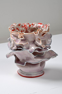 "KATHY BUTTERLY ""Lots of little love affairs,"" Shoshana Wayne Gallery (2012) clay, glaze"