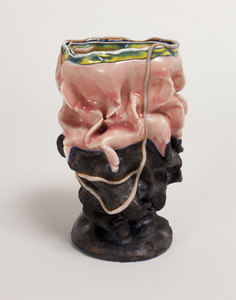 KATHY BUTTERLY 2011 clay, glaze