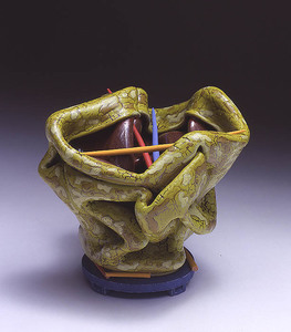 "KATHY BUTTERLY ""Fall Into Spring,"" Tibor de Nagy Gallery (2004) clay, glaze"