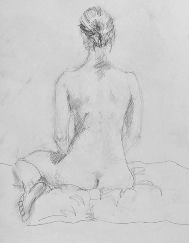 Kathy Calhoun Sketchbook/Figure Studies