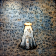 KATHY FEIGHERY Dress Series  oil and graphite on canvas