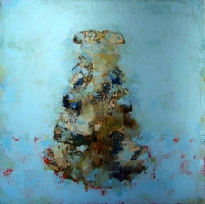 KATHY FEIGHERY Dress Series  oil and acrylic on panel