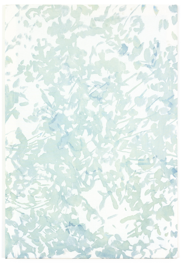 Textile Paintings The Sun is Breathing in and out (seafoam)