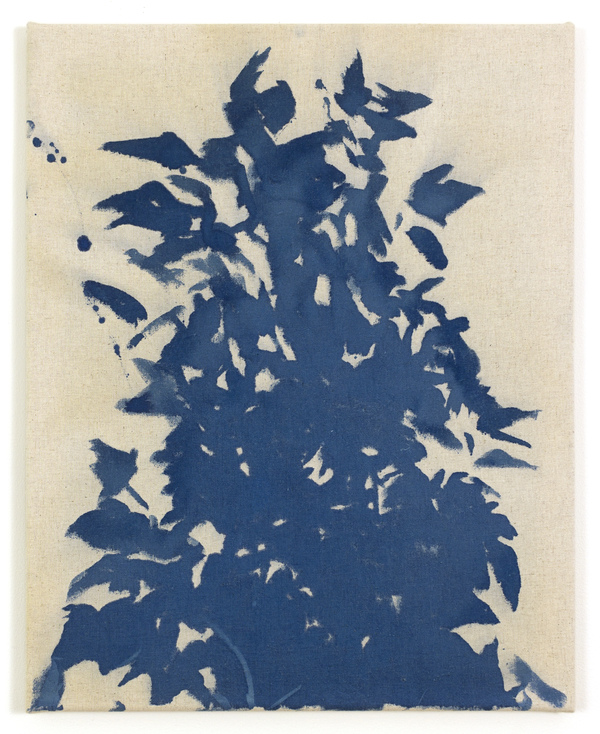 Textile Paintings Figure, Ground, Silhouette