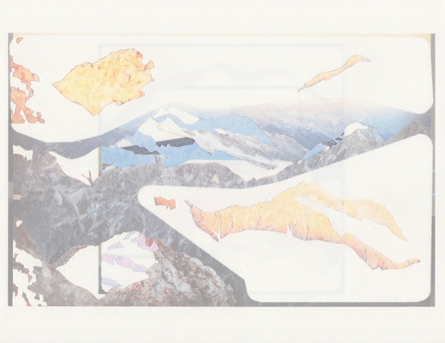 Katie M. Westmoreland Alpenglow Collages