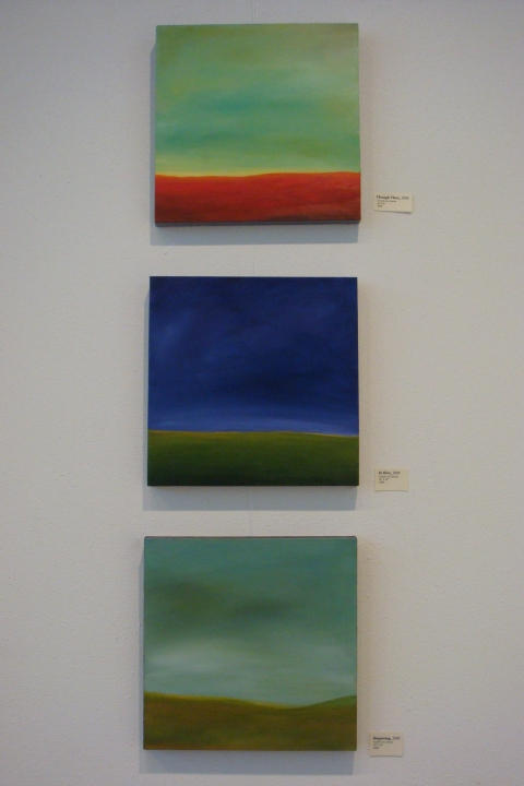 Katie Todd Small Abstract Landscapes, Sold